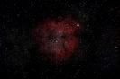 Gasnebel (IC 1396) mit offenem Sternhaufen Tr 37 im Cep