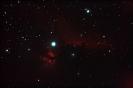 Pferdekopfnebel (B 33) vor IC 434 im Ori